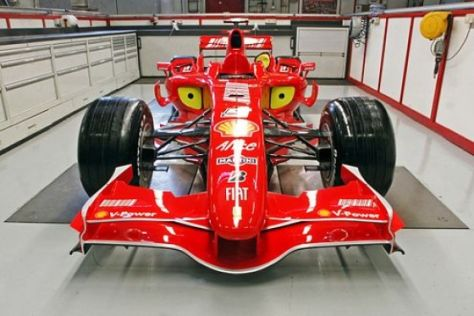 Vorstellung Ferrari F2007