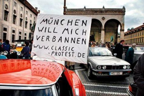 Blockade gegen City-Fahrverbote