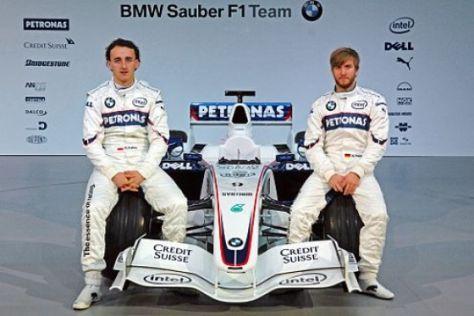 Erster Krach bei BMW-Sauber