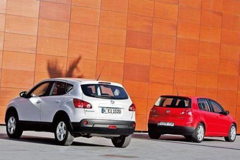 Test VW Golf – Nissan Qashqai