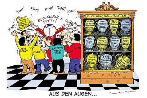 AUTO BILD MOTORSPORT Cartoon
