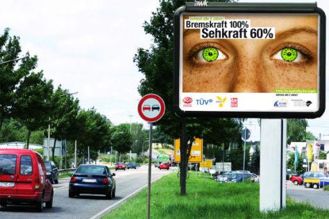 Augencheck für Autofahrer