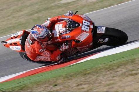 Nicky Hayden fühlt sich nun deutlich wohler auf der Ducati: Platz drei in Indy
