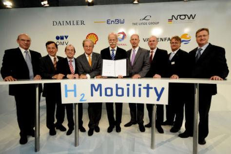 Wasserstoff-Tankstellen für Deutschland