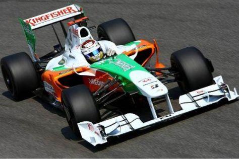 Für Adrian Sutil begann das Wochenende in Monza genau wie erhofft