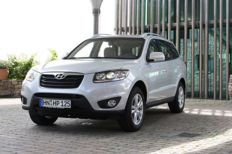 Hyundai Santa Fe Facelift (2009)