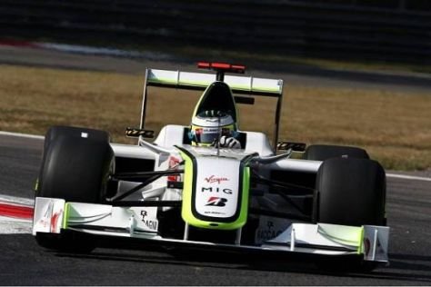 Jenson Button fuhr der Konkurrenz am Freitag hinterher