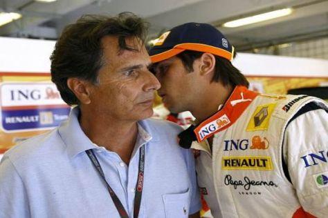 Die Piquets müssen sich derzeit heftige Kritik von Flavio Briatore anhören