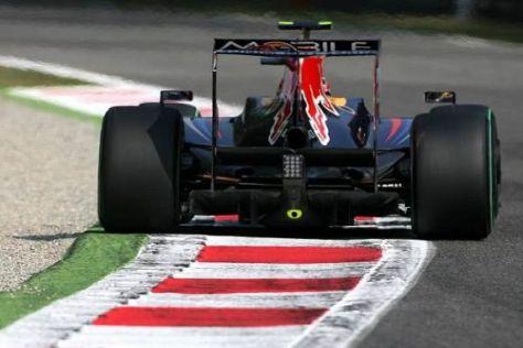 Diese Ansicht hätte Sebastian Vettel seinen Gegnern viel lieber gezeigt...