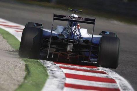 Kazuki Nakajima war einen Tick schneller als Nico Rosberg