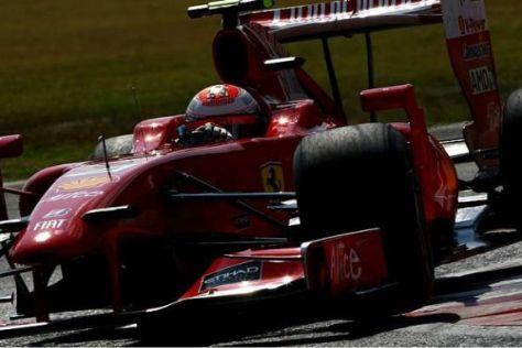 Kimi Räikkönen war fast selbst überrascht, wie gut es im Qualifying klappte