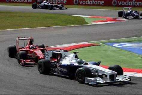 Nick Heidfeld fuhr ein starkes Rennen und kam um acht Plätze nach vorn