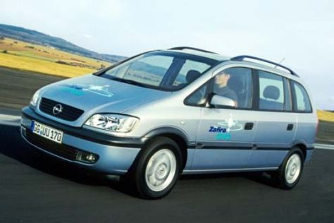 Service-Aktion Opel Zafira CNG