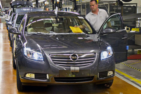 Opel Insignia Produktion