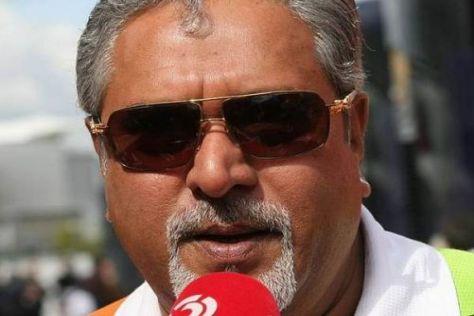 Vijay Mallya kann sich nicht über einen Mangel an Fahrerinteresse beklagen