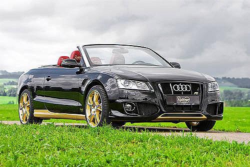 Getunter Audi A5 Cabrio Abt