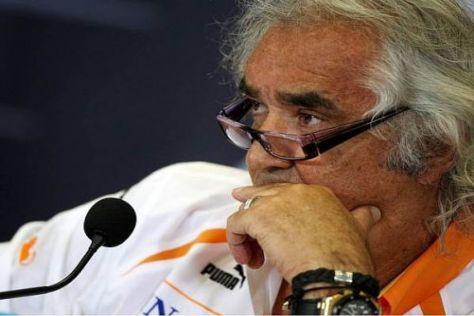 Wie sieht die weitere motorsportliche Zukunft von Flavio Briatore aus?