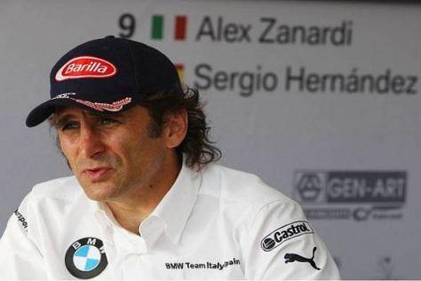 Alex Zanardi weiß, wie schwer es ist, im Tourenwagen richtig zu bremsen