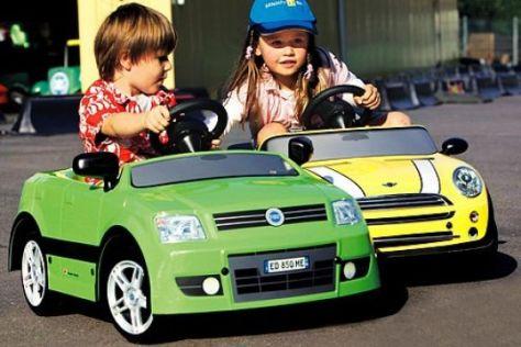 Test Tret- und Elektroautos