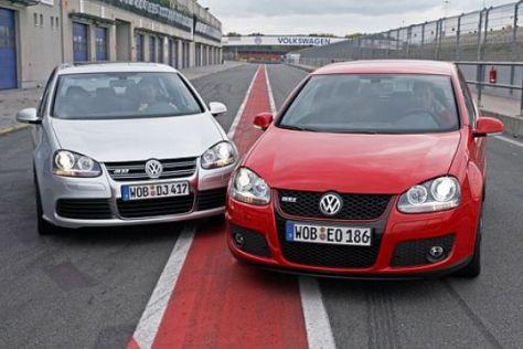Vergleich Golf GTI gegen R32