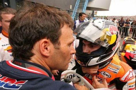 Dani Pedrosas Manager Alberto Puig wird bei Honda etwas ausgebremst