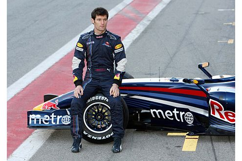Mark Webber (Aus) soll Red-Bull in der Saison 2007 verstärken.