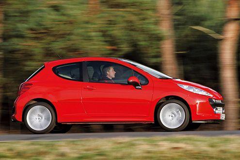 Peugeot 207: Mit 19.850 Euro ist der Franzose der teuerste Testkandidat.