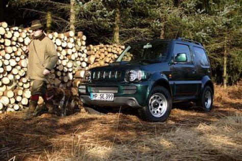 Jägerrabatt bei Suzuki