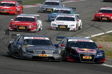 Am Nürburgring gerieten Bruno Spengler und Mattias Ekström aneinander