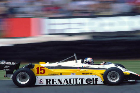Alain Prost ist zu aktiven Zeiten erfolgreich für Renault Formel 1 gefahren