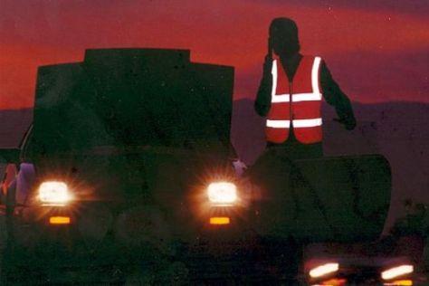 Warnwestenpflicht in Belgien