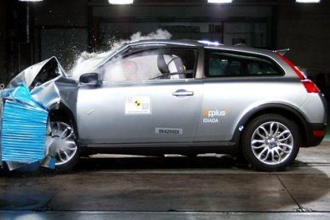 EuroNCAP-Crashtest Volvo C30