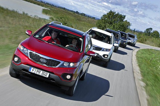 AUTO BILD-Leser testen neue Kia Cee'd und Sorento