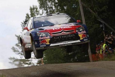 Für Sébastien Loeb könnte die Ein-Minuten-Strafe massive Folgen haben