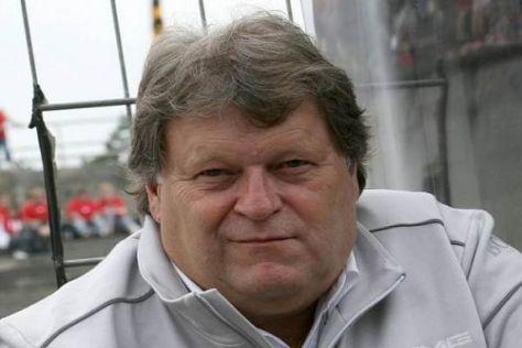 Norbert Haug war mit dem Speed der C-Klasse in der Qualifikation zufrieden