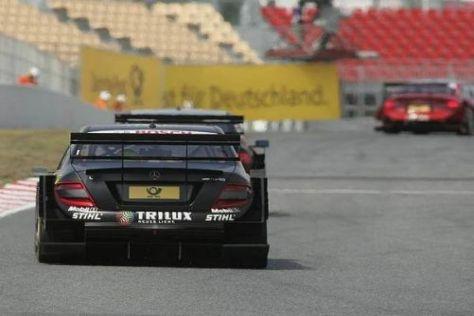 Ralf Schumacher hatte im hinteren Mittelfeld kein einfaches Rennen