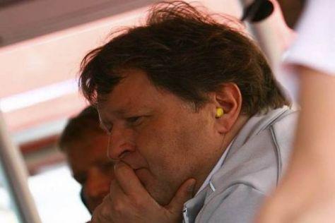 Norbert Haug konnte sich über den Rennverlauf nicht wirklich freuen