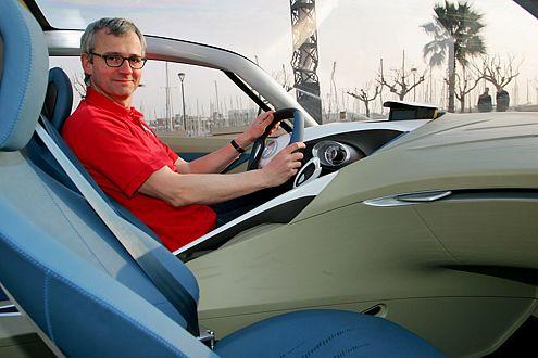 Erster Tester im Hakaze: AUTO BILD-Redakteur Dirk Branke.