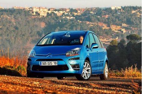 Test Citroën C4 Picasso Fünfsitzer