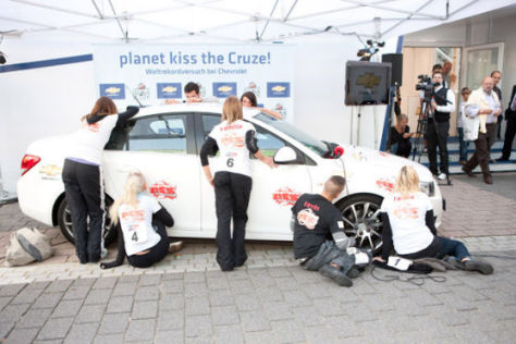 Chevrolet Cruze auf der IAA 2009