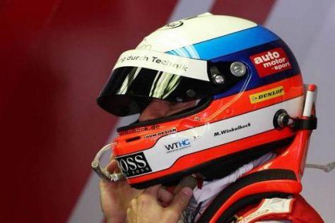 Markus Winkelhock musste sein Auto vorzeitig in der Box abstellen