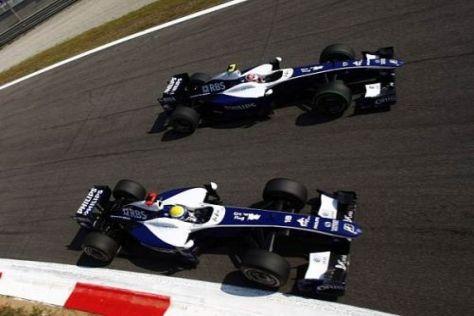 Nico Rosberg und Kazuki Nakajima hoffen auf gute Chancen in Singapur