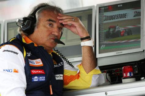 Flavio Briatore, ehemaliger F1-Renault-Teamchef