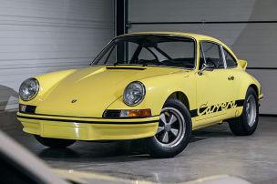 Falsche Porsche Carrera RS 2.7 enttarnen