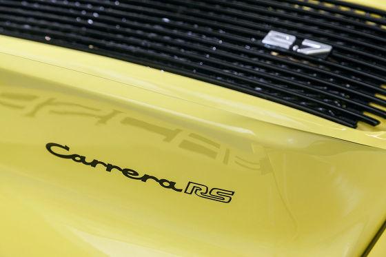 Report: Porsche Carrera RS 2.7