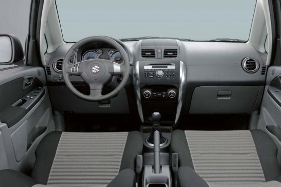 Suzuki SX4 Facelift (2009)