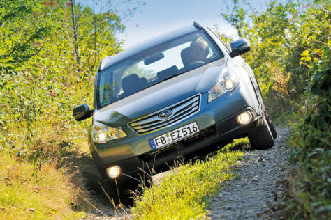 Fahrbericht Neuer Subaru Outback und Legacy