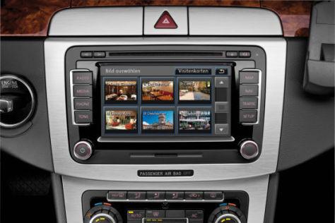 VW-Navigationssystem RNS 510 mir Sprachsteuerung