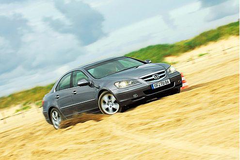Leistung satt: Der Honda Legend kommt mit 295 PS und Allradantrieb.