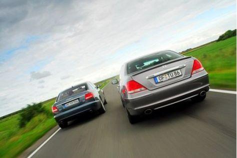 Test Audi A6 gegen Honda Legend